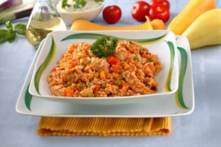 Mexikói rizseshús
