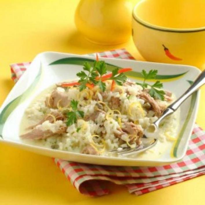 Tonhalas sajtos rizs