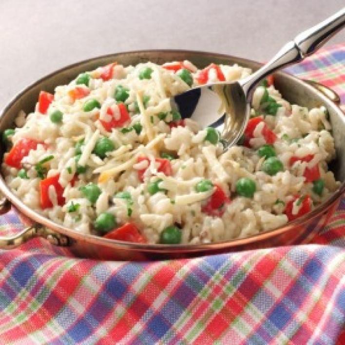 Zöldséges rizottó