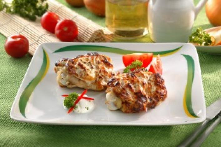 Sajtos-boros csirke