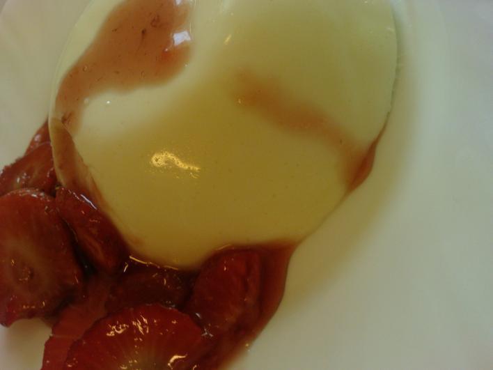 Olasz tejpuding (panna cotta)