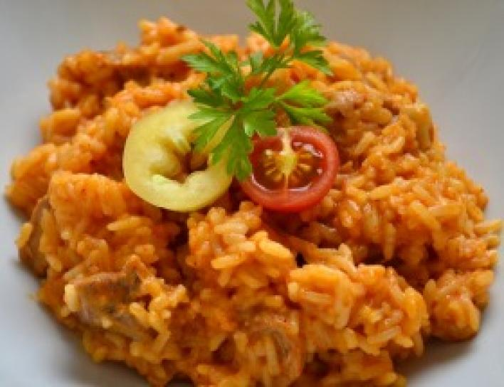 Bácskai rizses hús