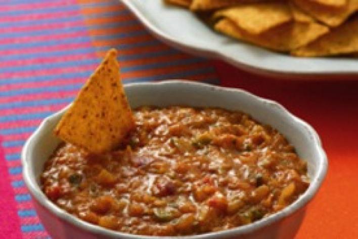 Salsa nachos-hoz