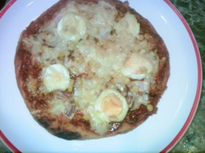 Pizza házi pizzaszósszal