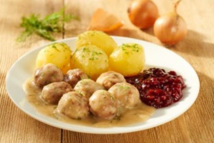 Svéd húsgolyók