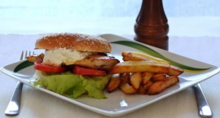 Csirkeburger