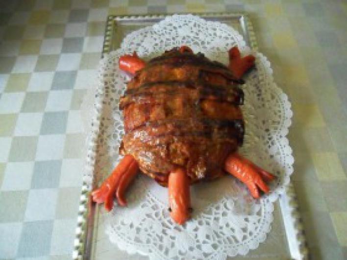 Fasírt teknős