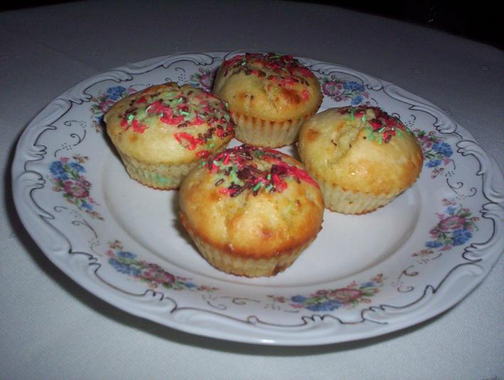 Túrós muffin csokival