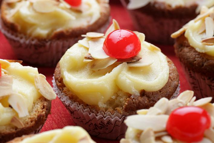 Marcipános muffin