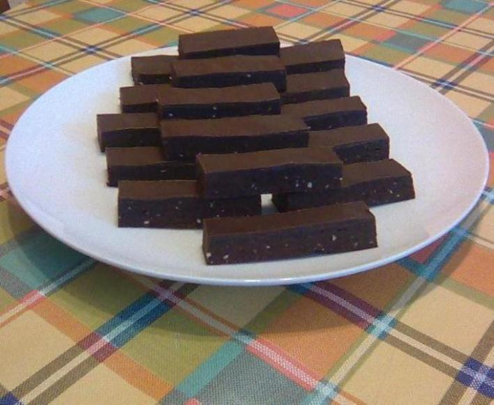 Rumos-csokis szelet otthon