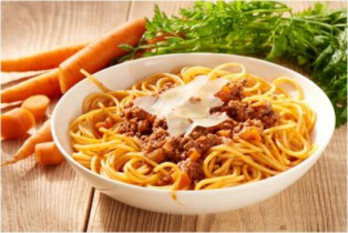 Egyszerű bolognai spagetti