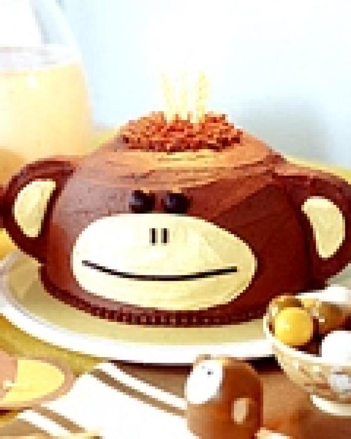 Csokoládés-banános torta
