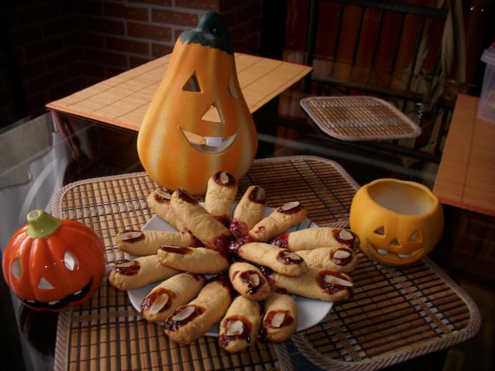 Halloween-i ujjacskák