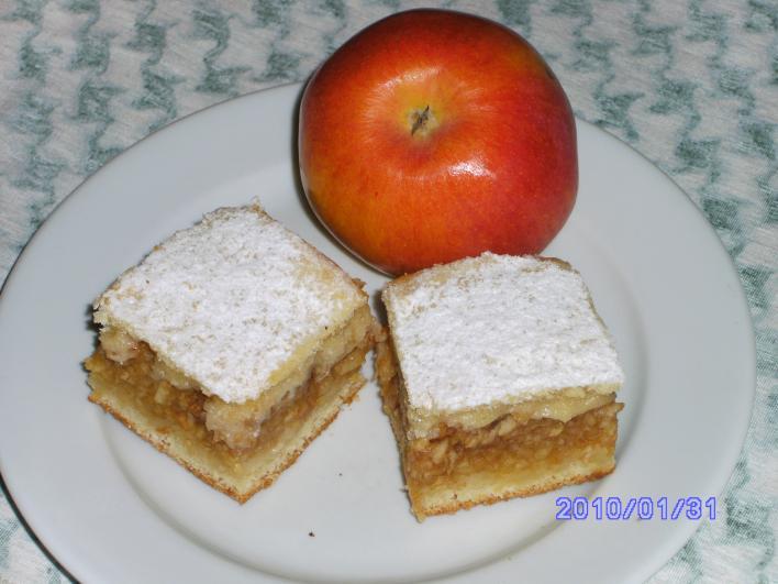 Egyszerű almás lepény