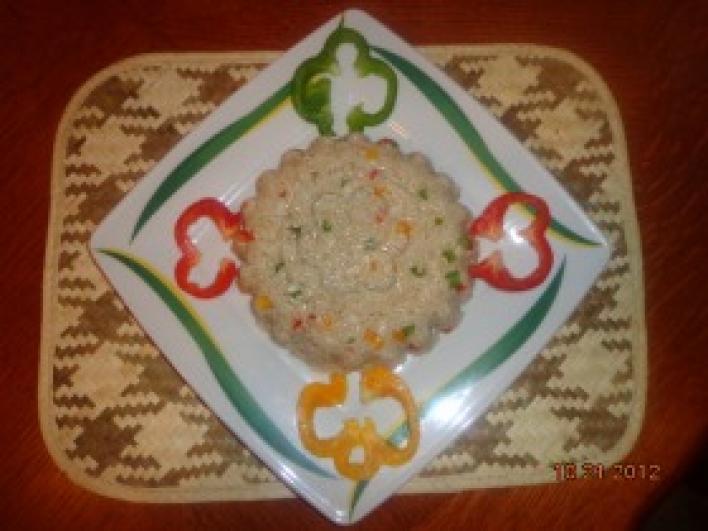 Balinéz rizsköret, kicsit magyarosítva