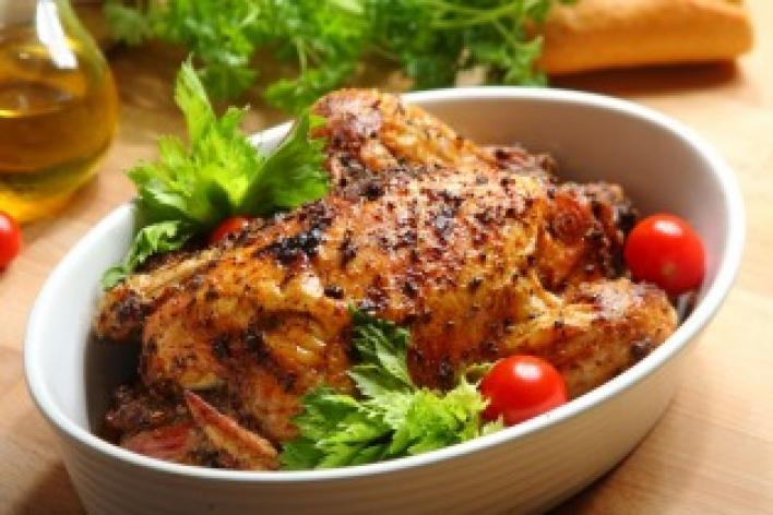 Lengyel töltött csirke