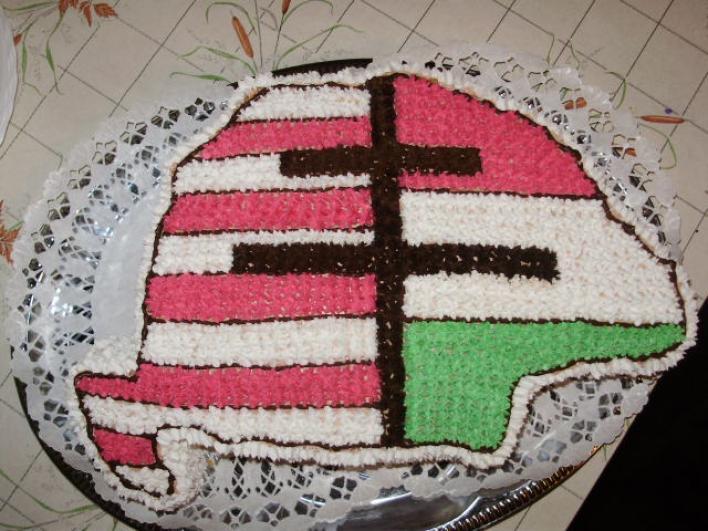 Címeres torta