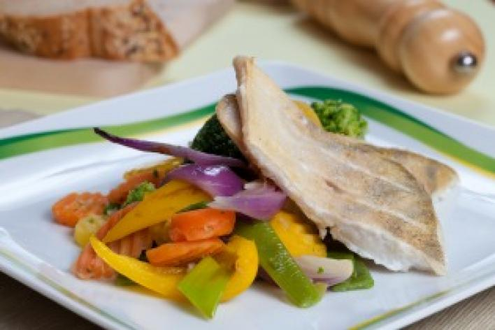 A szénégető hala zöldségekkel