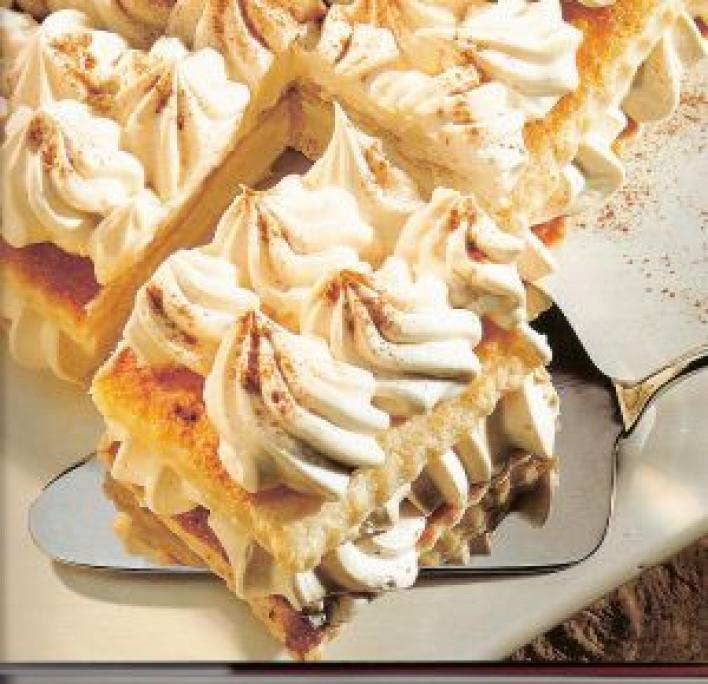 Sherryvel és fahéjjal ízesített torta