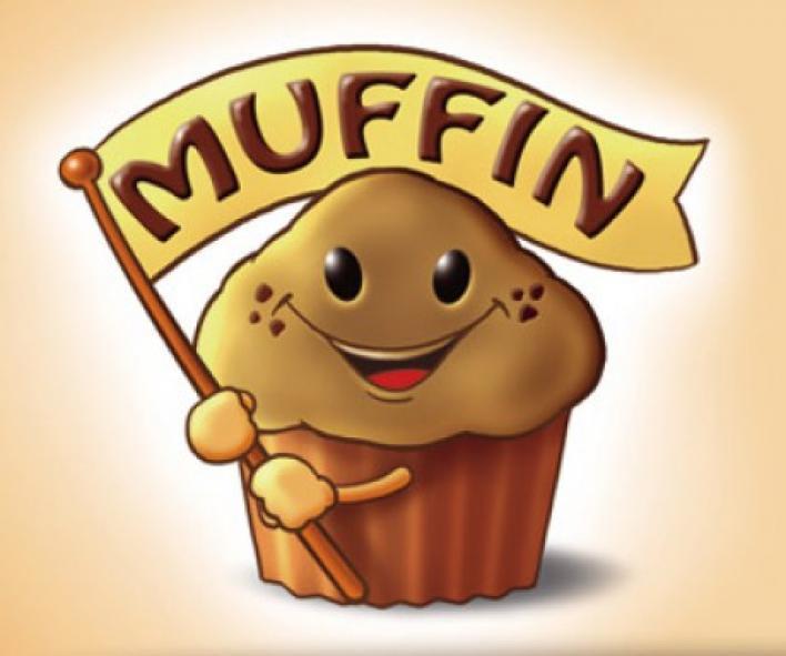 Banános-pudingos muffinok