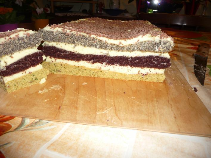 Zebracsíkos süti