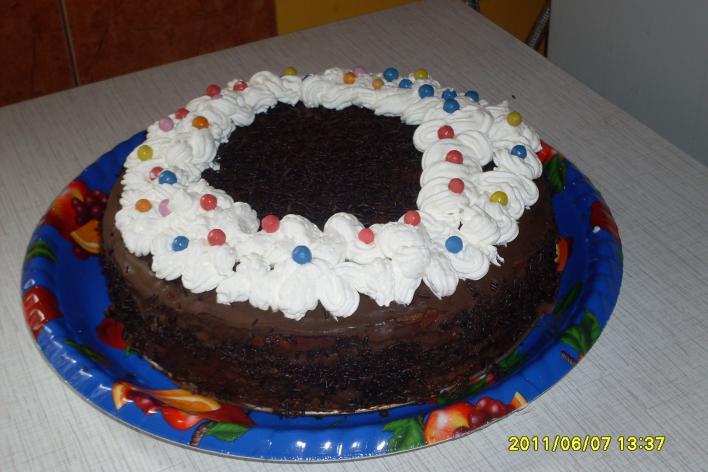 Ákikám szülinapi tortája