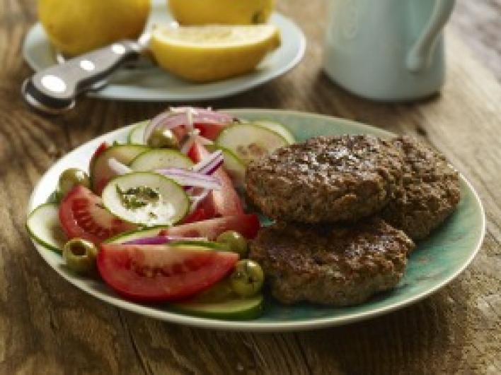 Görög húspogácsák