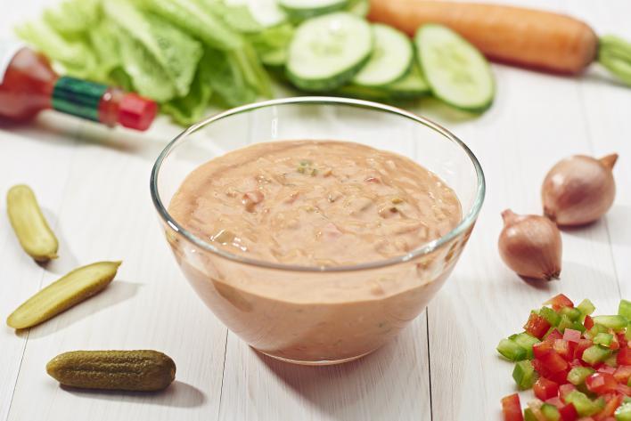 Házi Ezersziget salátaöntet