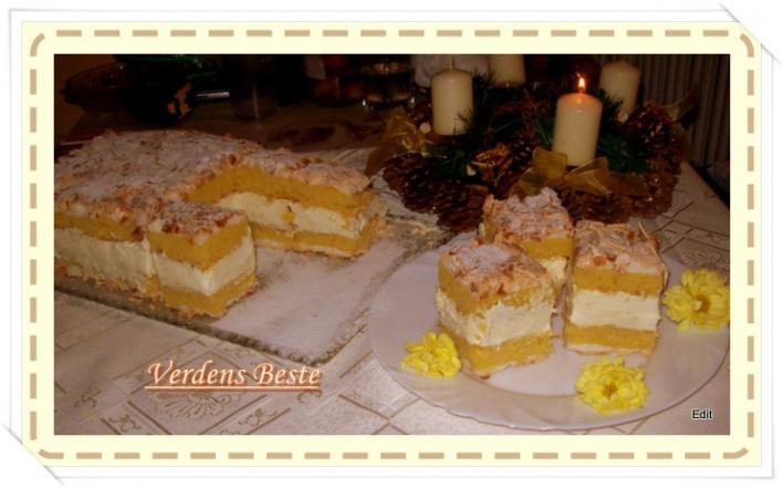 Verdens Beste (Norvég sütemény)