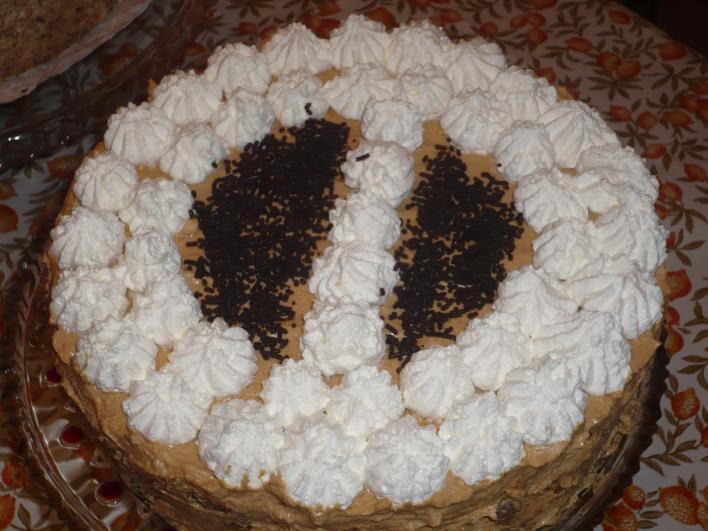 Tejszínes tejkaramella torta