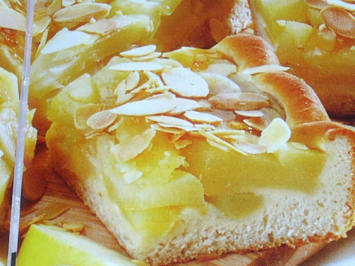 Almás-vajas sütemény