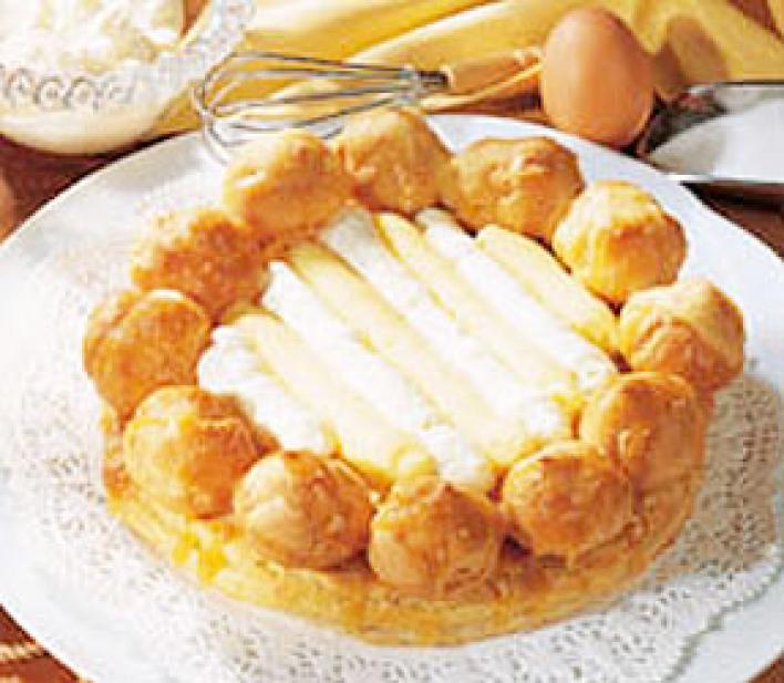 Tejszínkrémes torta