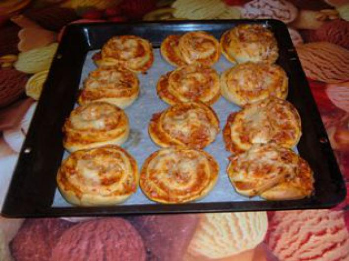 Pizzatekercs
