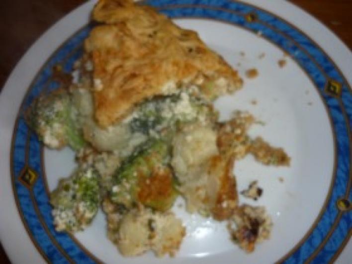 Rakott karfiol-brokkoli