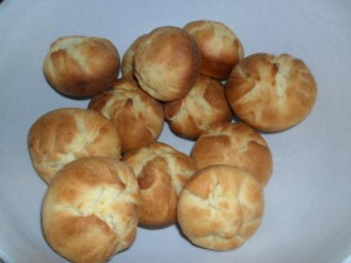 Túrós batyu muffin formában