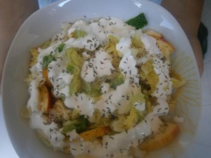 Erdélyi krumplisaláta Gaálné módra