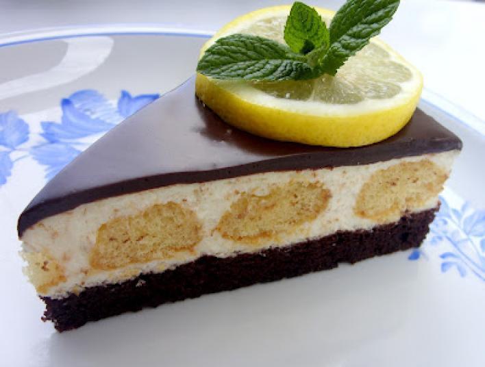 Csokis citromos torta
