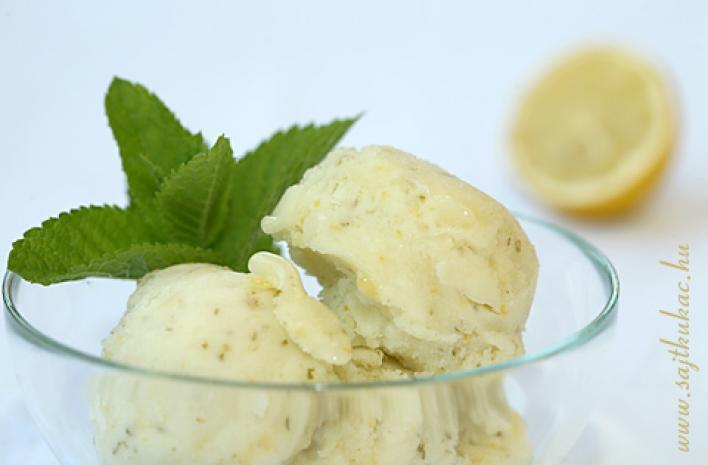 Citromos fagylalt