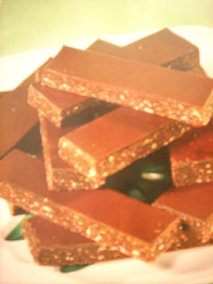 Igazi rumos-csokis szelet