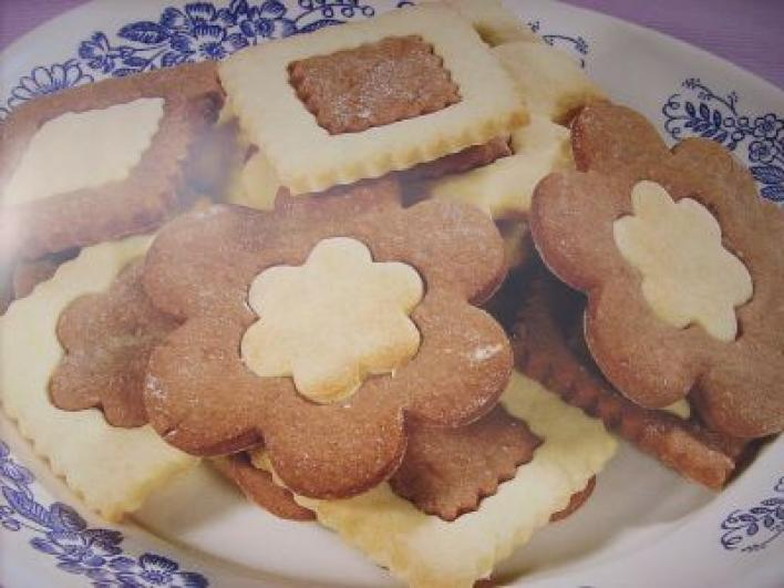 Mutatós tarka keksz