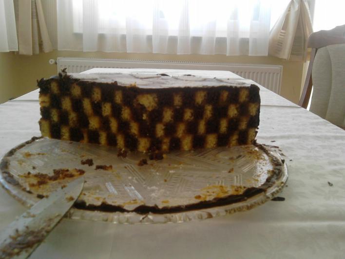 Sakk-matt torta