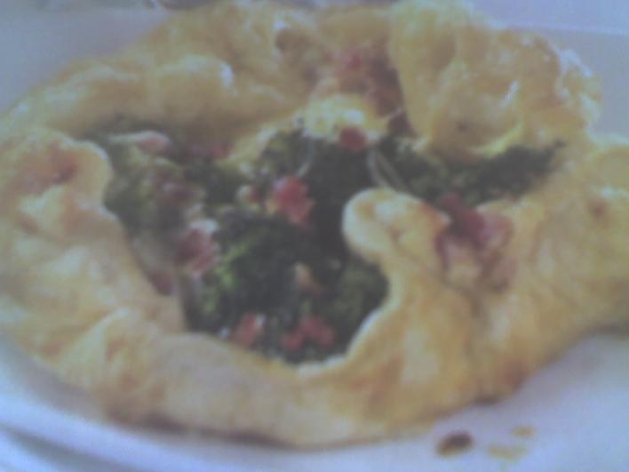 Brokkolis-sonkás batyu
