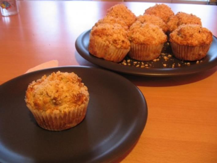 Omlós kekszes muffin