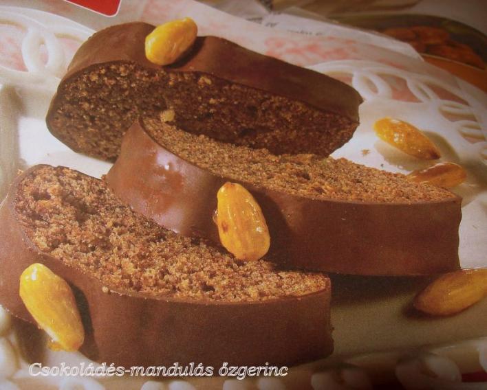 Csokoládés-mandulás őzgerinc