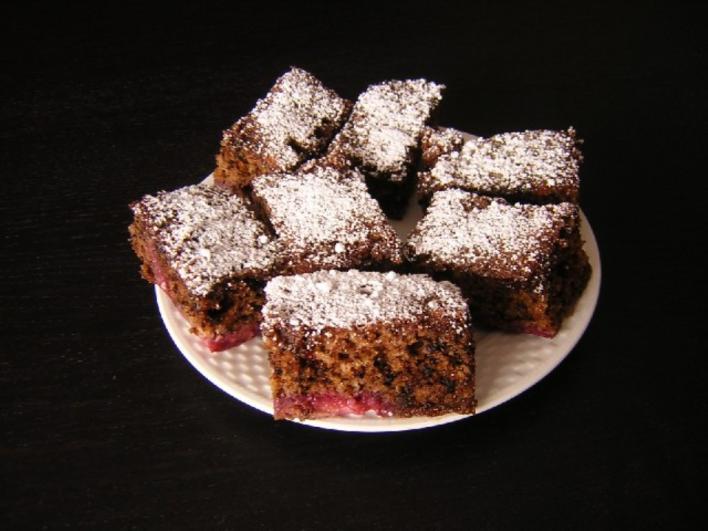 Bögrés diós sütemény