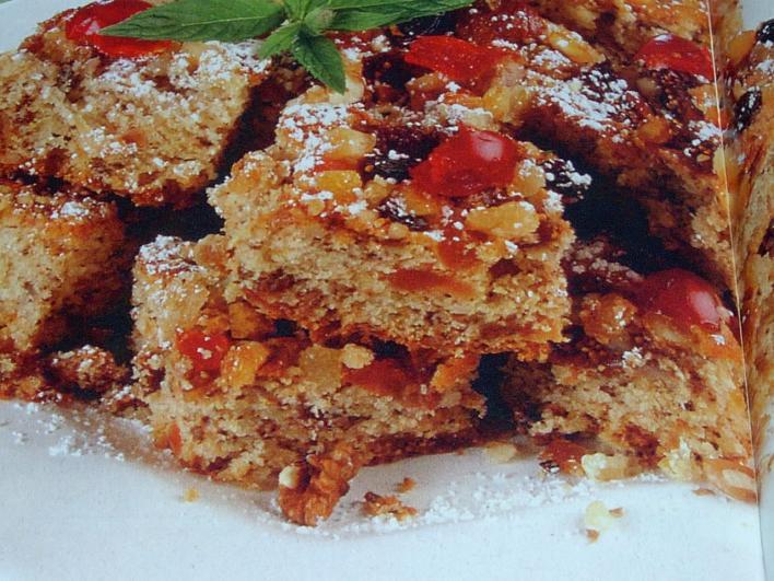 Dél-tiroli gyümölcsös sütemény