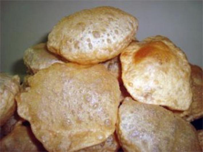 Poori, Indiai puffasztott kenyér