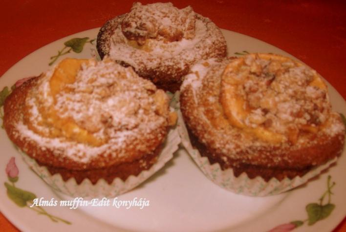 Almás muffin