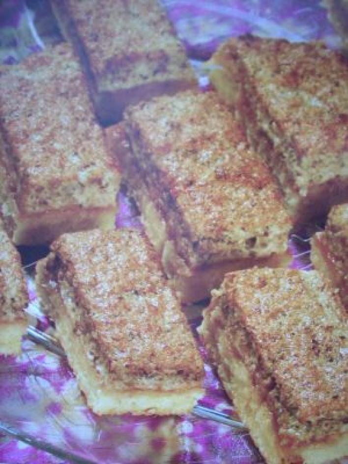 Habos-diós sütemény