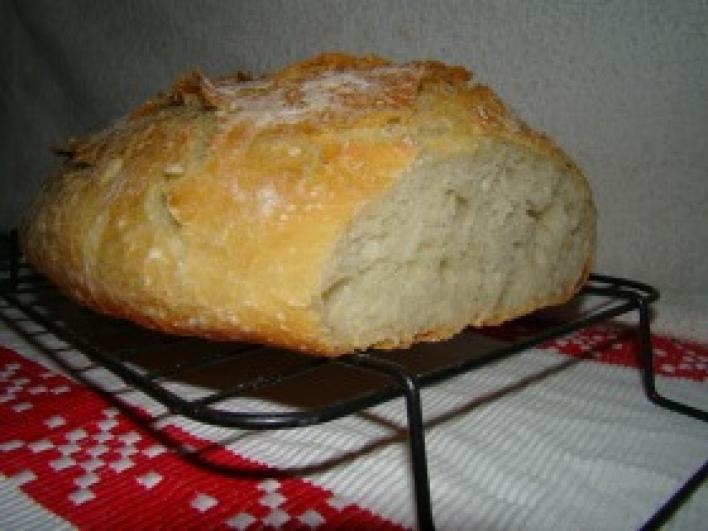 Dagasztás nélküli kenyér